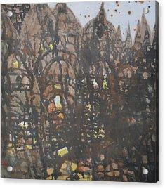 Legend Of Old Castle Acrylic Print by Zi De Chen