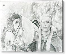 Legolas Greenleaf Acrylic Print