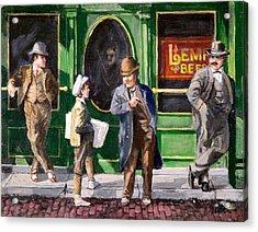 Lemp Beer Acrylic Print by Edward Farber