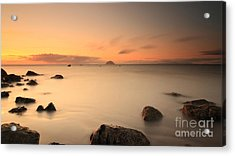 Lendalfoot Sunset Acrylic Print