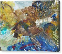 Let Freedom Ring Acrylic Print by Kris Dixon