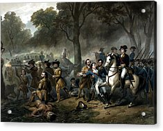 Life Of George Washington -- The Soldier Acrylic Print by War Is Hell Store
