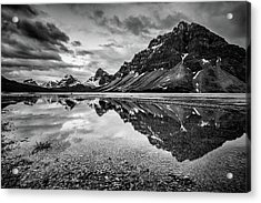 Acrylic Print featuring the photograph Light On The Peak by Jon Glaser
