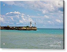 Lighthouse Acrylic Print by Irina Afonskaya