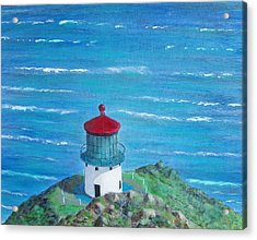 Lighthouse Acrylic Print by Tony Rodriguez