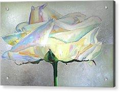 Acrylic Print featuring the painting Lightness by Eva Konya