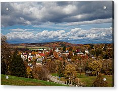 Acrylic Print featuring the photograph Ligonier Valley by April Reppucci