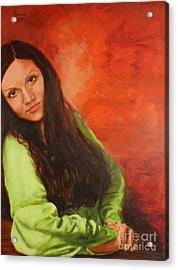 Liliia Acrylic Print
