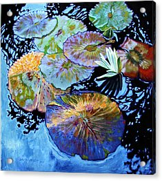 Lily Pad Palettes Acrylic Print