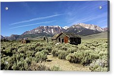 Acrylic Print featuring the photograph Little House by Joseph G Holland