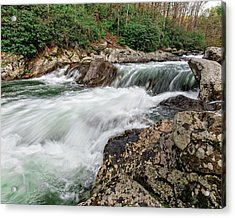 Acrylic Print featuring the photograph Little River  by Alan Raasch