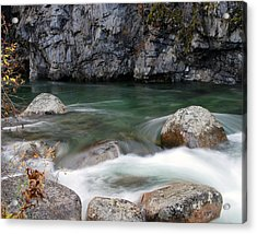 Little Susitna River Acrylic Print by Doug Lloyd