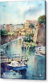 Livorno - Italy Acrylic Print by Natalia Eremeyeva Duarte