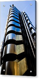 Lloyds Of London  Acrylic Print by David Pyatt