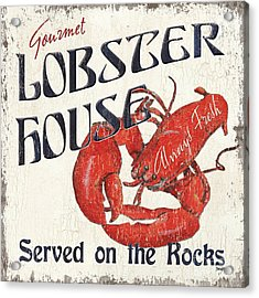 Lobster House Acrylic Print by Debbie DeWitt