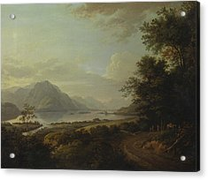 Loch Awe, Argyllshire Acrylic Print