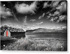 Loch Hope Acrylic Print by Nichola Denny