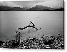 Acrylic Print featuring the photograph Loch Lomond Lake, Scotland by Michalakis Ppalis
