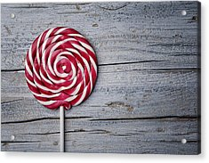 Lollipop Acrylic Print by Nailia Schwarz