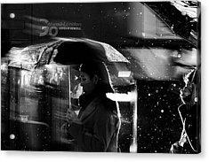 London Rain IIi Acrylic Print by Wayne La