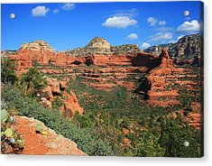 Long Canyon Morning Acrylic Print