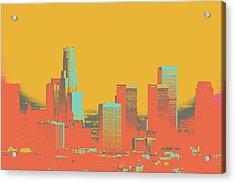 Los Angeles Acrylic Print by Shay Culligan