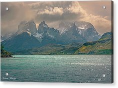 Acrylic Print featuring the photograph Los Cuernos  by Andrew Matwijec