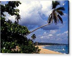 Los Tubos Beach Acrylic Print by Thomas R Fletcher