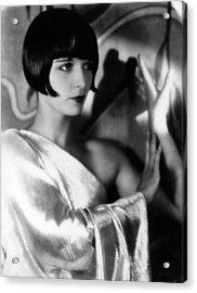 Louise Brooks, Ca. 1929 Acrylic Print by Everett