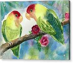 Love Birds  Acrylic Print