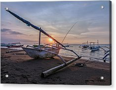 Lovina - Bali Acrylic Print by Joana Kruse