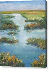 Lowcountry Marsh Acrylic Print