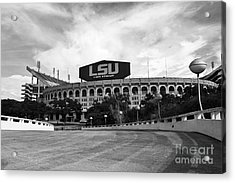 Lsu Tiger Stadium Acrylic Print