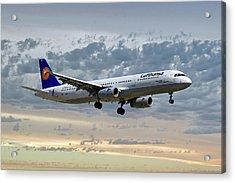 Lufthansa Airbus A321-131 Acrylic Print