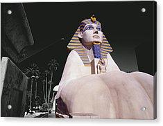 Luxor Sphynx Acrylic Print by Tom Fant