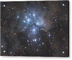 M45 - Pleiades Acrylic Print