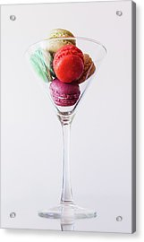 Macarons Acrylic Print by Happy Home Artistry
