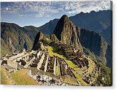 Machu Picchu Inca Ruins Acrylic Print
