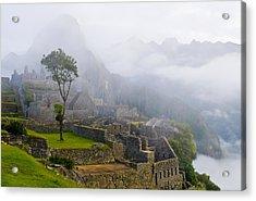 Machu Pichu Acrylic Print by Kobby Dagan