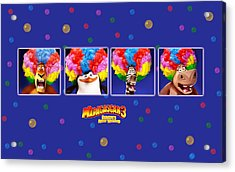 Madagascar 3 Europe's Most Wanted Acrylic Print