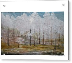 Maggie Valley Acrylic Print by Hal Newhouser
