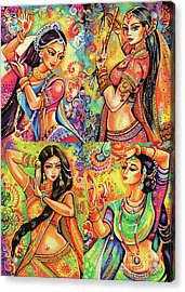 Acrylic Print featuring the painting Magic Of Dance by Eva Campbell