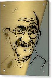 Mahatma Gandhi Collection Acrylic Print