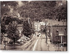Acrylic Print featuring the photograph Main Street Webster Springs by Thomas R Fletcher