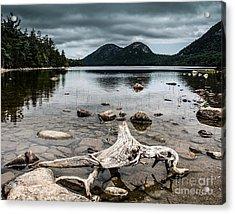 Maine Acrylic Print by Richard Smukler