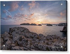 Acrylic Print featuring the photograph Malgrats Islands by Hans- Juergen Leschmann