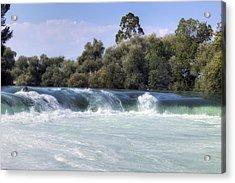 Manavgat Waterfall - Turkey Acrylic Print by Joana Kruse