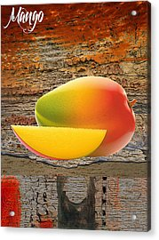 Mango Collection Acrylic Print by Marvin Blaine