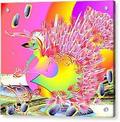 Many Colors Acrylic Print