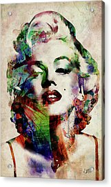 Marilyn Acrylic Print
